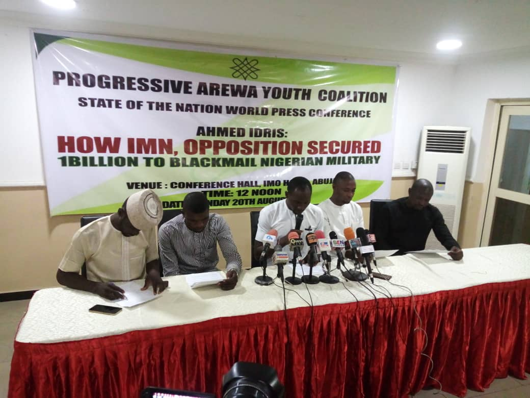 BREAKING NEWS! – AREWA GROUP EXPOSES HOW DR IDRIS AHMED GOT